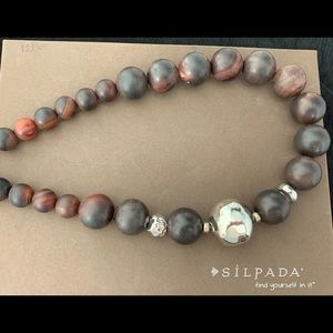 N1822 Retired Agate Silpada necklace